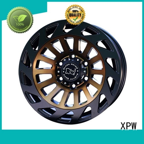 XPW aluminum black suv wheels customized for SUV cars