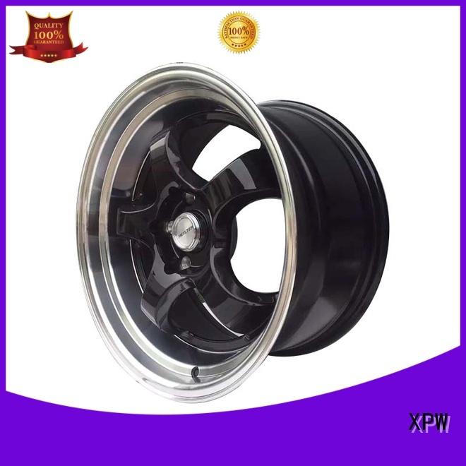grey Custom form 15 inch rims gold XPW
