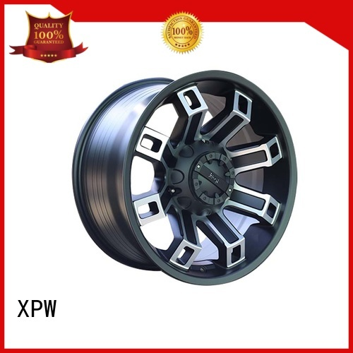 XPW black with bronze face suv wheels and tires wholesale for cars