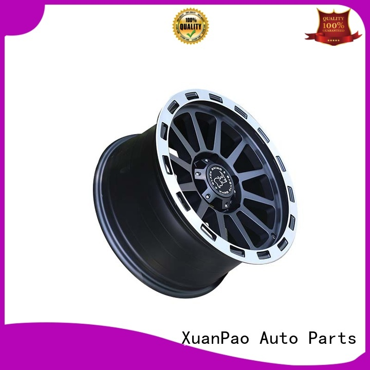 black with bronze face custom suv rims customized for SUV cars XPW