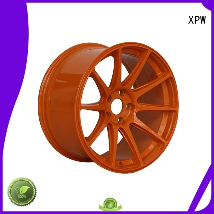 XPW wide sides 18 inch black rims supplier for Honda series