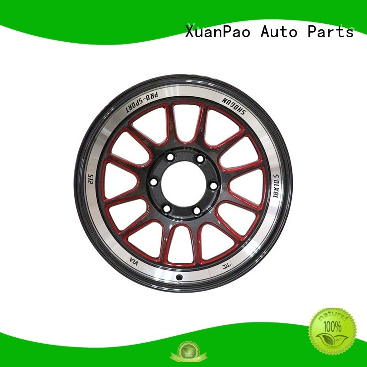 durable 18 inch black rims OEM for Toyota