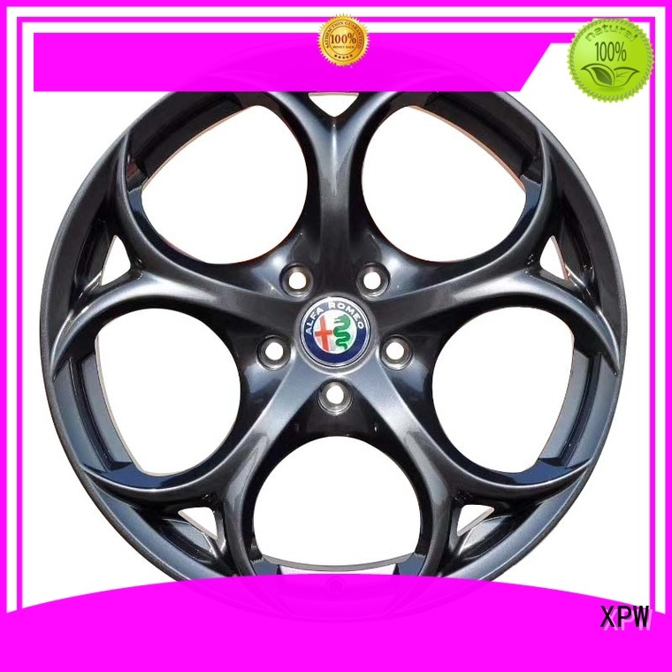 cost-efficient 18 inch black wheels auto supplier for Toyota
