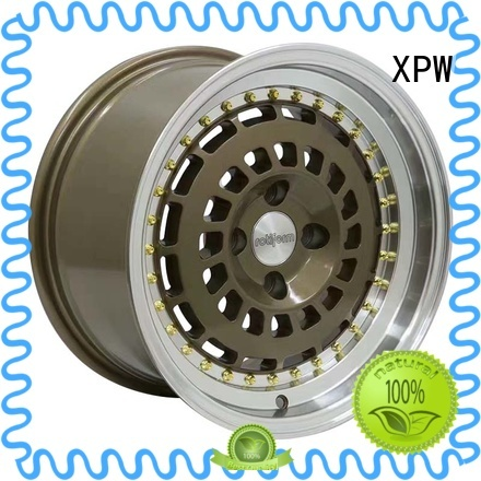 XPW long lasting 15 chrome wheels manufacturing for Toyota