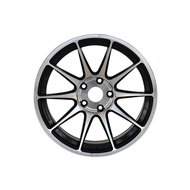 matt black 18 inch black wheels customized for vehicle XPW-3