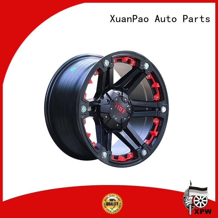 XPW alloy black suv rims manufacturing for vehicle