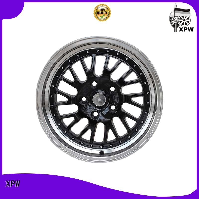 novel design 16 inch alloy wheels manufacturing for cars XPW