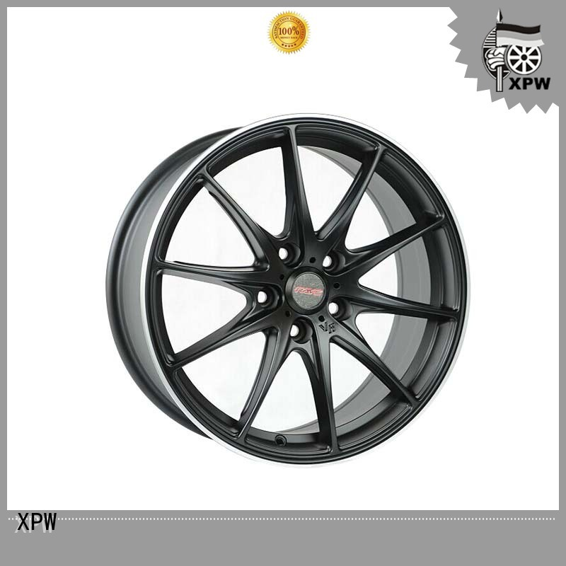 XPW reliable 18 inch black rims supplier for Toyota