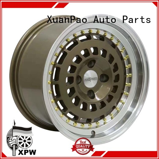 XPW long lasting 15x10 steel wheels manufacturing for cars