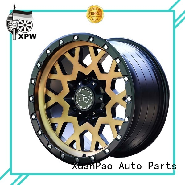 XPW exquisite black suv rims manufacturing for SUV cars