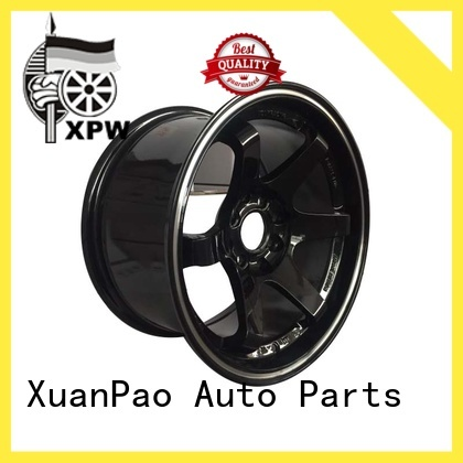 black 15 inch off road wheels design for vehicle