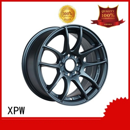 matt black 18 inch wheels aluminum for Honda series XPW