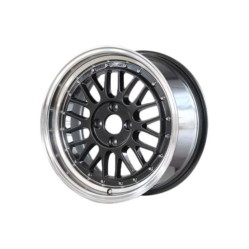 long lasting 15 inch rims 4x100 white design for vehicle-2