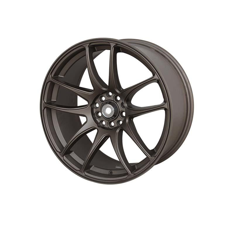 matt black 18 inch wheels aluminum for Honda series XPW-2