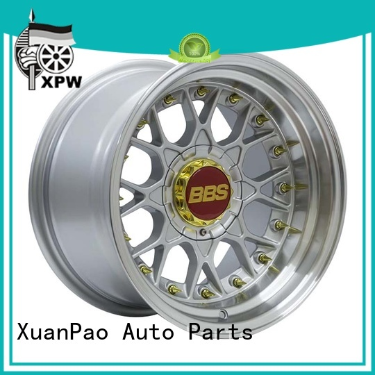 XPW novel design with beautiful shape 15x7 steel wheels customized for vehicle