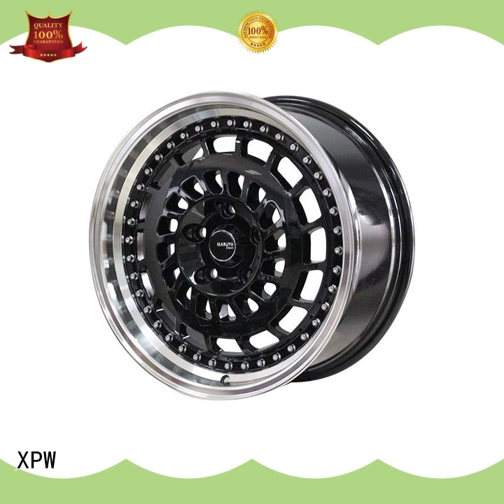 XPW alloy 17 inch rims set of 4 manufacturing for Toyota