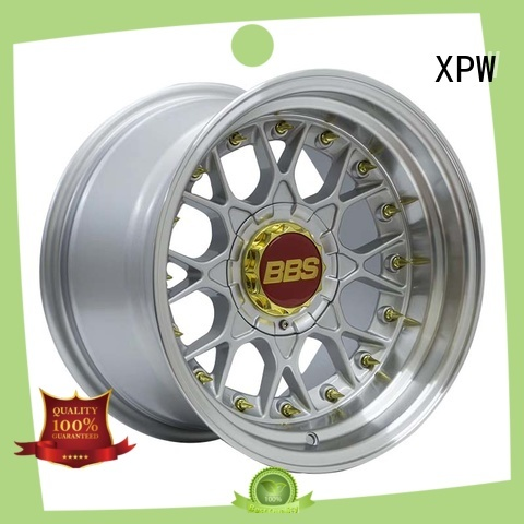 XPW high quality 15 inch trailer wheels white for Toyota