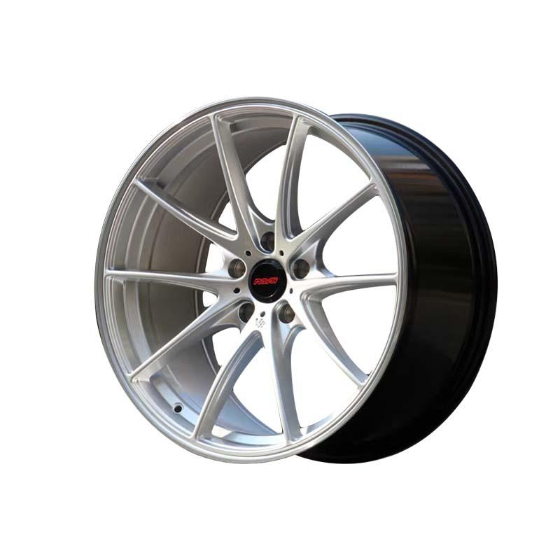 cost-efficient 18 black rims silver customized for cars-2