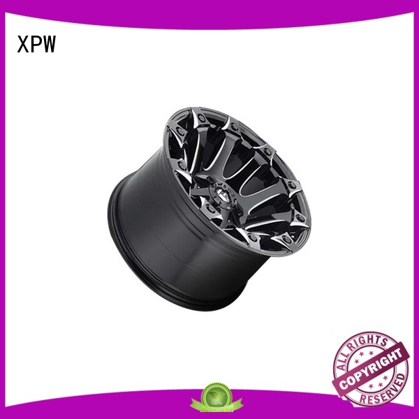 XPW aluminum suv alloy wheels manufacturing for SUV cars