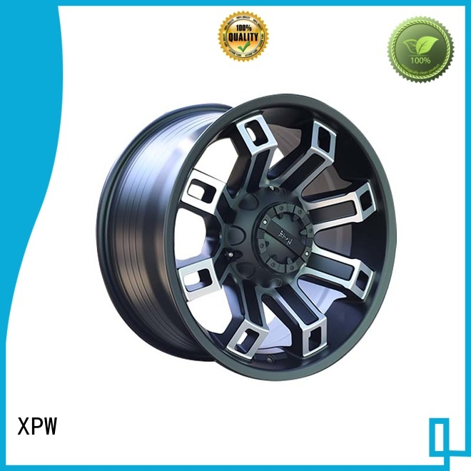effcient 18 inch suv rims black with bronze face wholesale for SUV cars