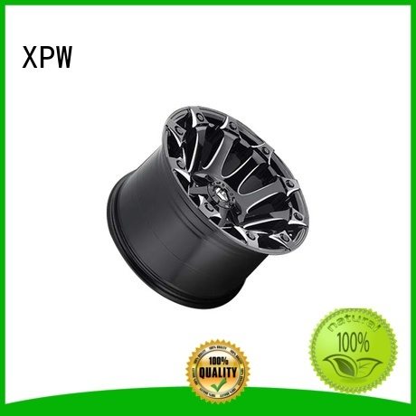 XPW durable black suv rims customized for SUV cars