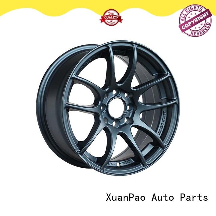 XPW matt black black 18 wheels manufacturing for Honda series