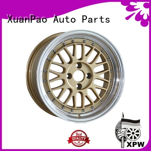 XPW power coating 15 inch chery rims design for vehicle
