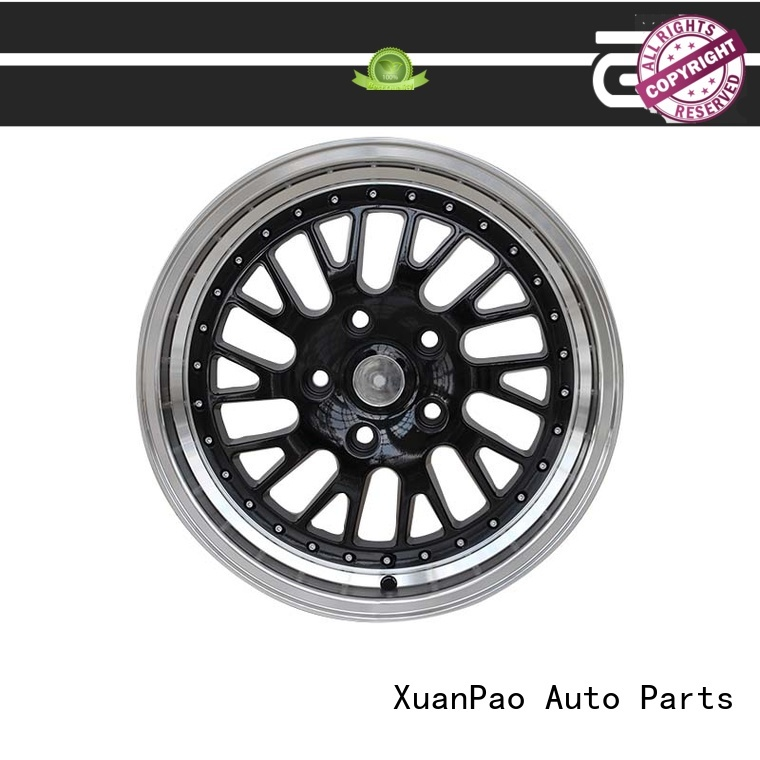 XPW black 16 inch black wheels manufacturing for vehicle