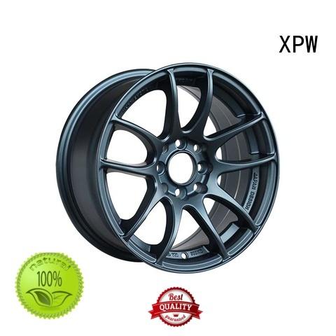 18 inch black chrome rims silver matte rims XPW Brand company