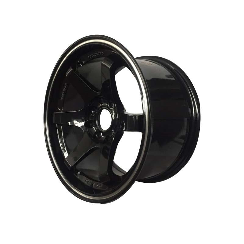 aluminum 15 inch black rims manufacturing for Honda series XPW-3