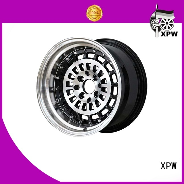 power coating 15 inch aluminum wheels manufacturing for Honda series XPW