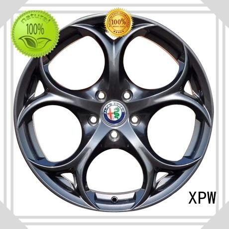 XPW durable 18 inch wheels matt black for vehicle