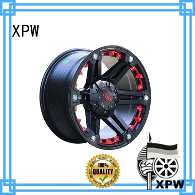 XPW black with bronze face 17 inch suv rims wholesale for SUV cars