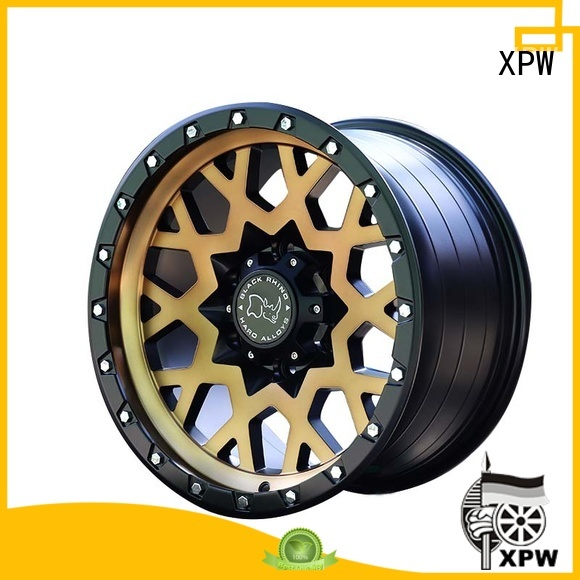 XPW auto 17 inch suv rims design for SUV cars