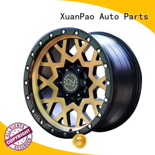 effcient custom suv wheels black with bronze face manufacturing for SUV cars