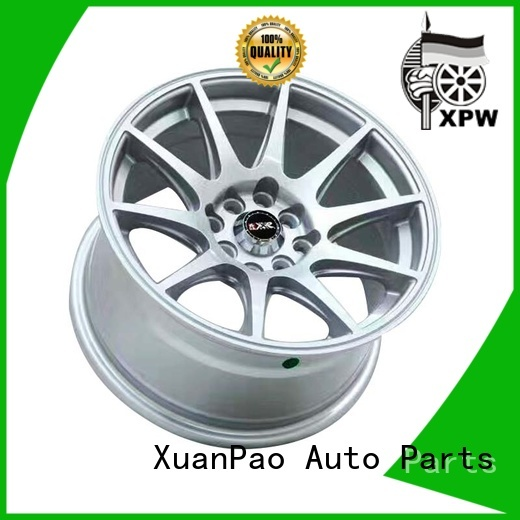 fashion black alloy wheels aluminum wholesale for Honda series