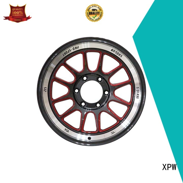 XPW auto 18 inch rims and tire packages manufacturing for cars