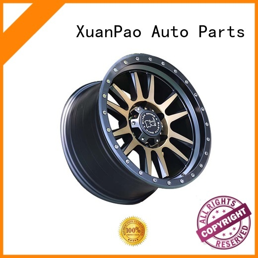 XPW black with bronze face best suv rims design for SUV cars