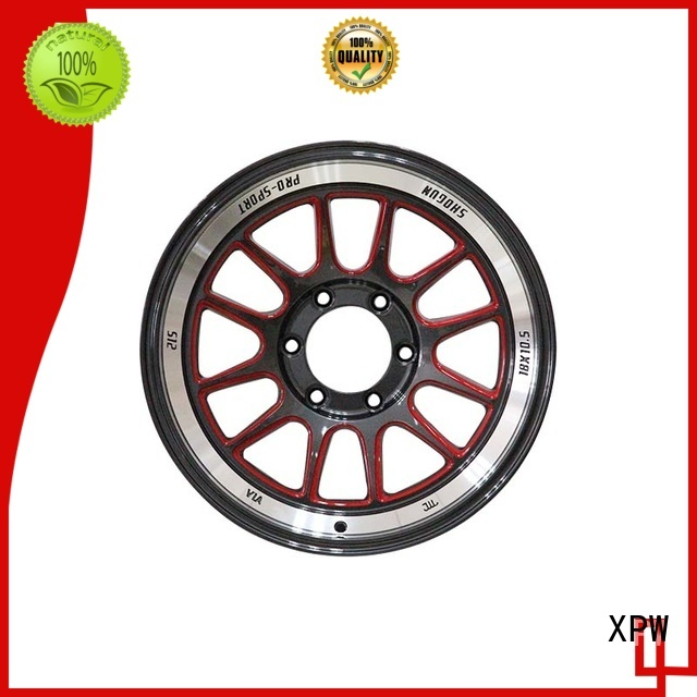 durable 18 inch chrome rims manufacturing for vehicle