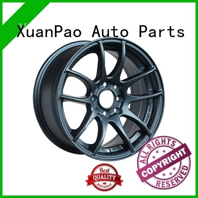 XPW alloy 18 black rims manufacturing for Honda series