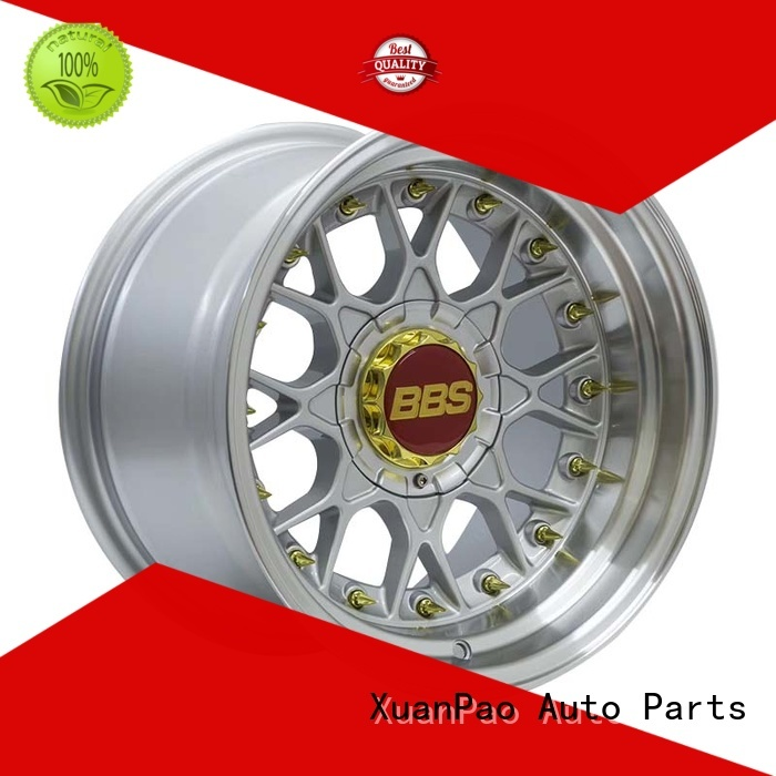 XPW high quality 15 inch trailer rims design for Toyota
