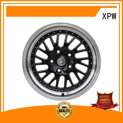 XPW black 16 inch wheels customized for cars