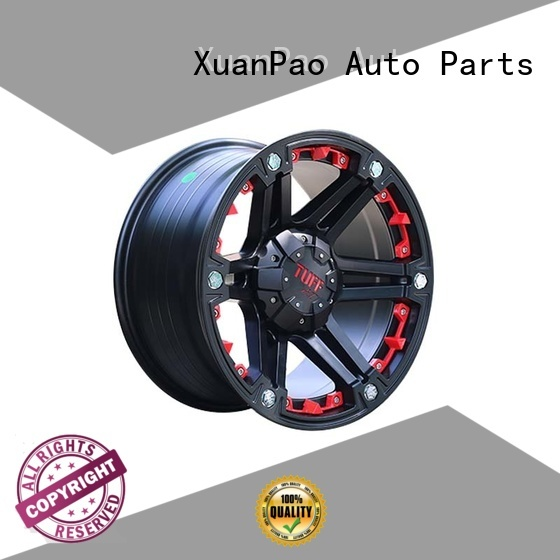 durable truck wheels aluminum customized for SUV cars