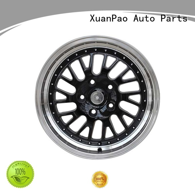 durable 16 inch off road wheels low-pressure casting design for cars