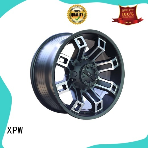 XPW professional chrome suv wheels design for SUV cars