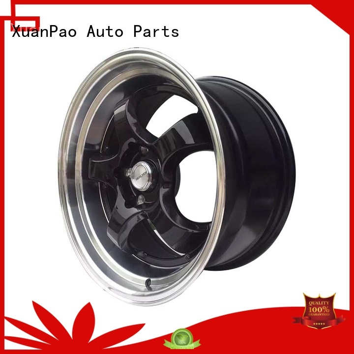 XPW black 15 jeep wheels wholesale for Toyota