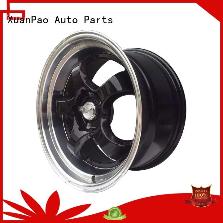 XPW black 15 jeep wheels wholesale for Toyota