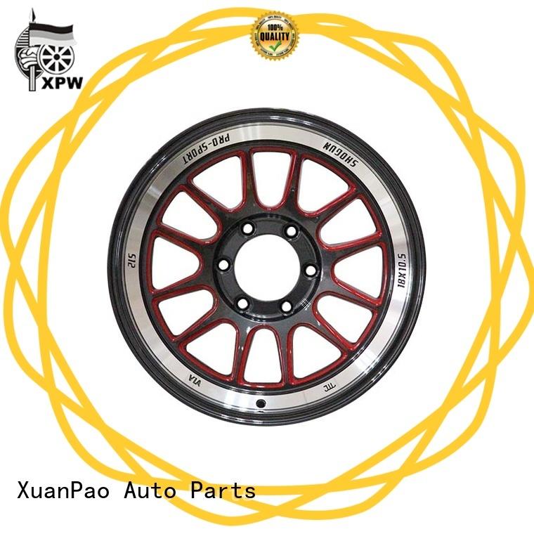 XPW reliable black 18 wheels customized for Toyota