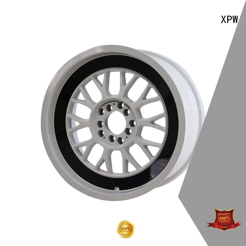 XPW long lasting 15 inch black wheels manufacturing for cars