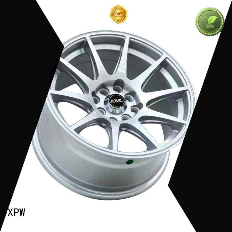 XPW novel design with beautiful shape 15 inch steel wheels customized for cars